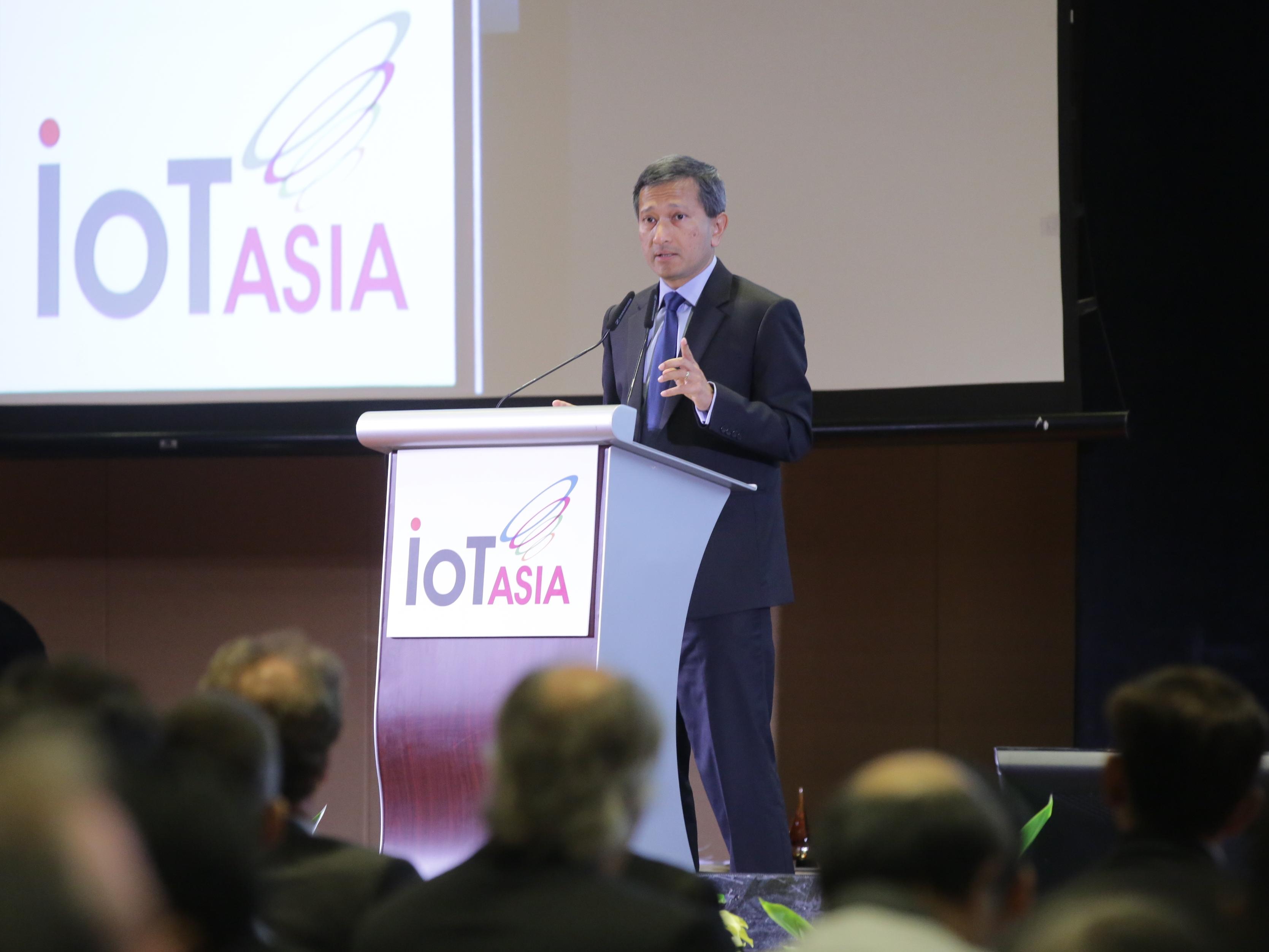 Internet of Things Asia 2016 underway